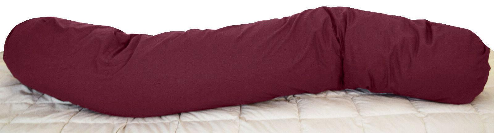 Sleeping Bean body pillow Cover, Cotton pillowcase,