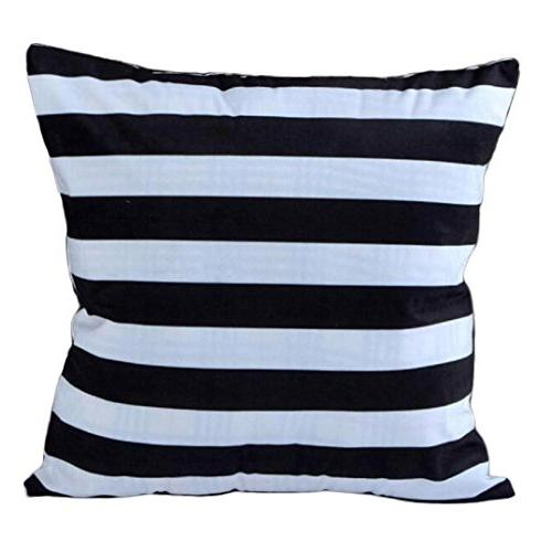 striped home pillowcases
