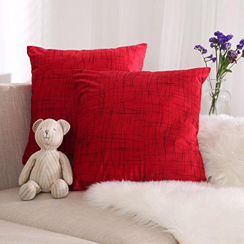 super soft decorative pillow covers