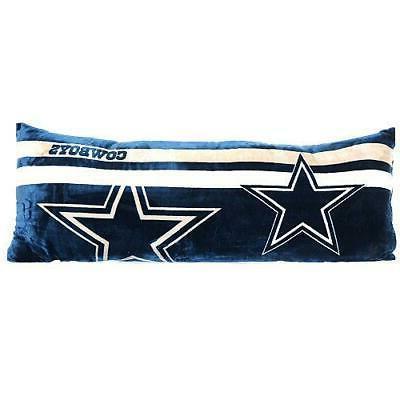 The Northwest Company NFL Dallas Cowboys Body Pillow Blue 20