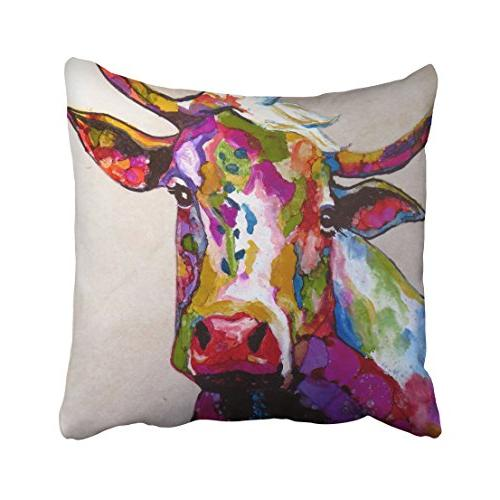 throw pillow covers brilliant colorful