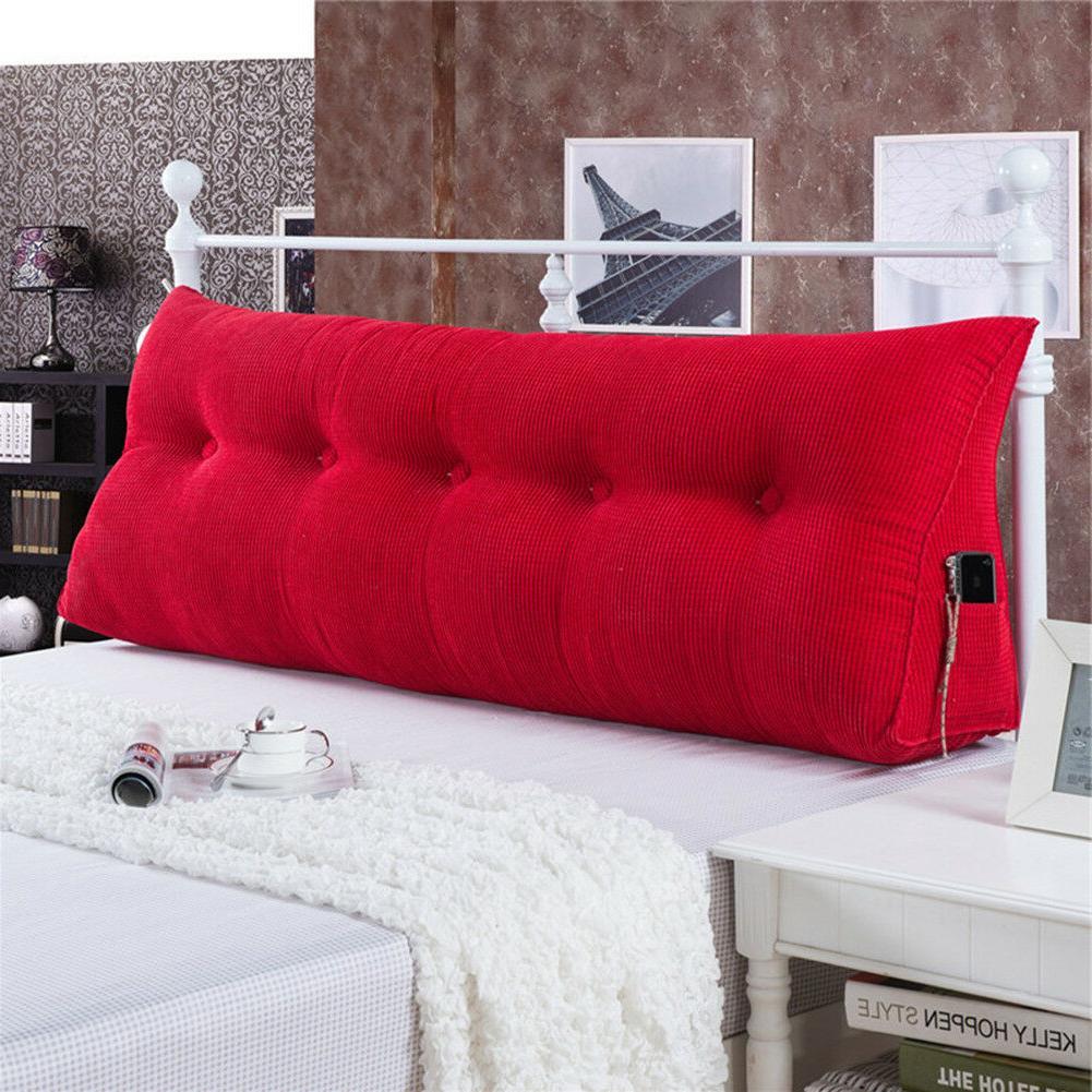 Triangular Wedge Pillow Cushion Bolster Soft
