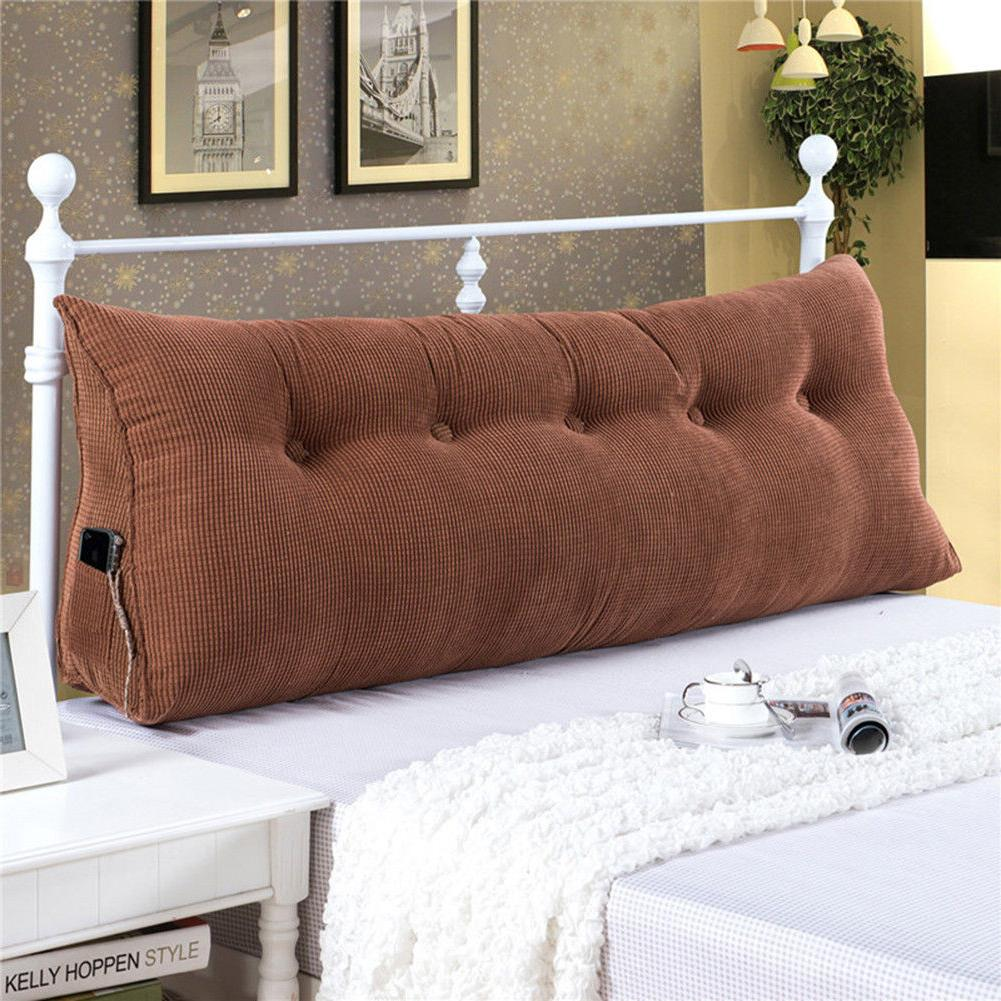 Triangular Pillow Cushion Soft Headboard