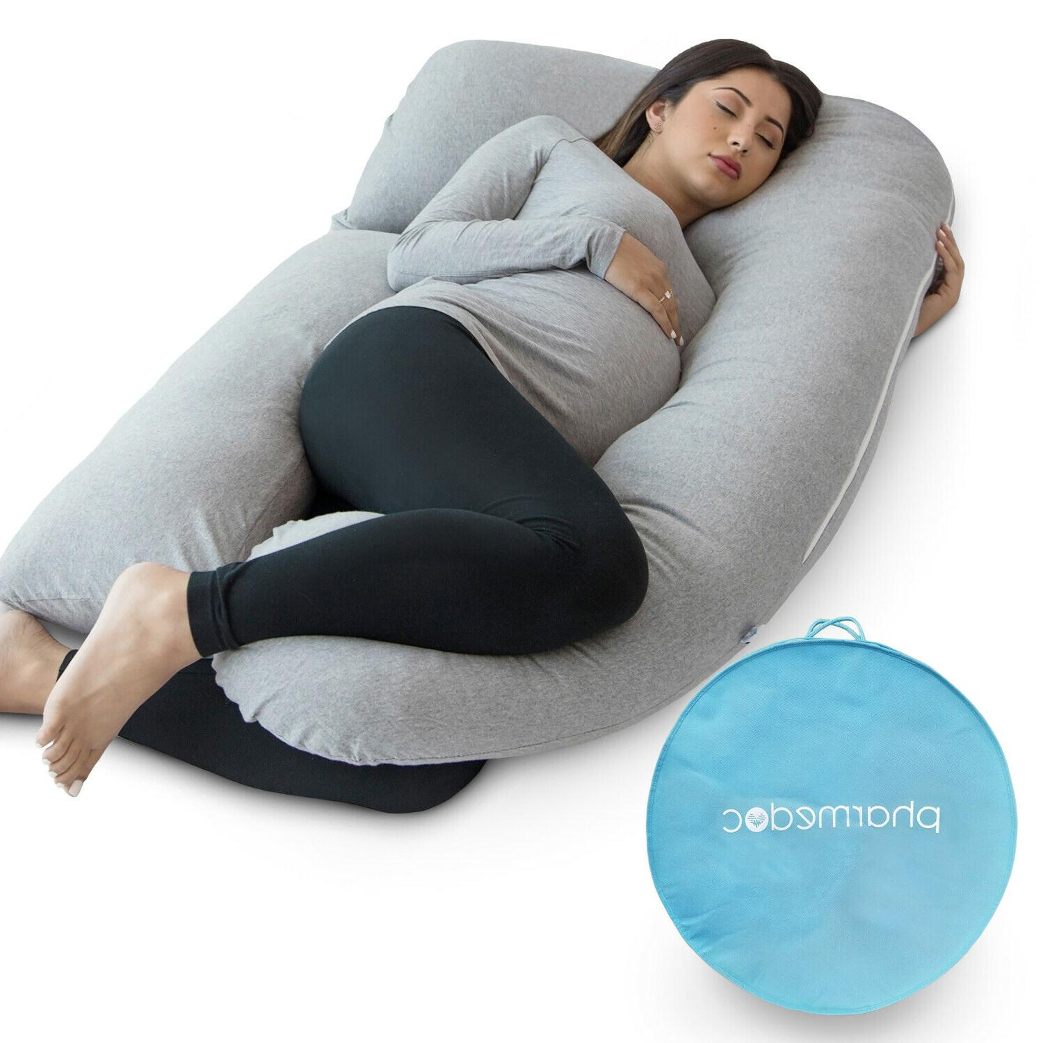 U-Shaped Full Body Pregnancy Pillow by PharMeDoc