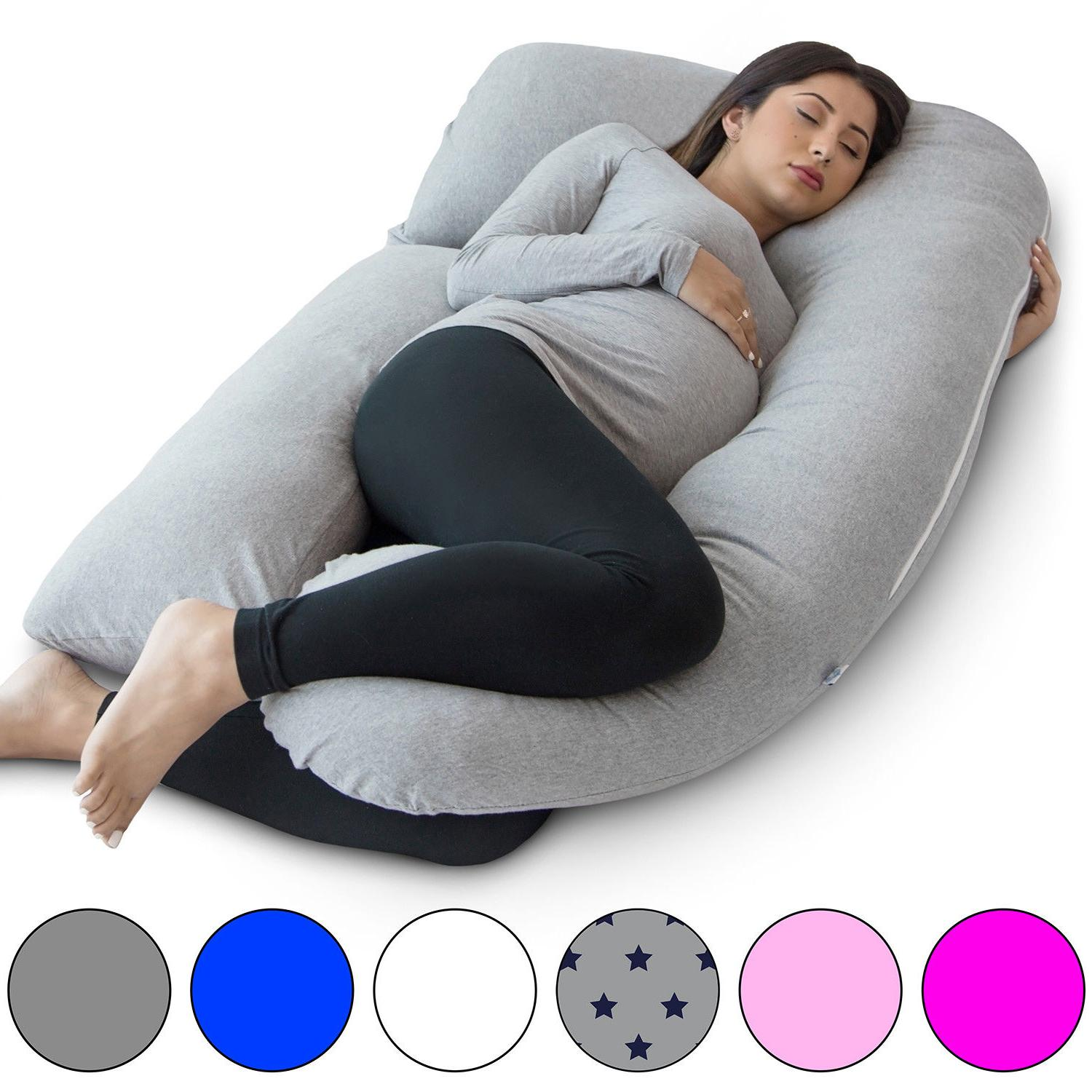 u shape full body pregnancy pillow detachable