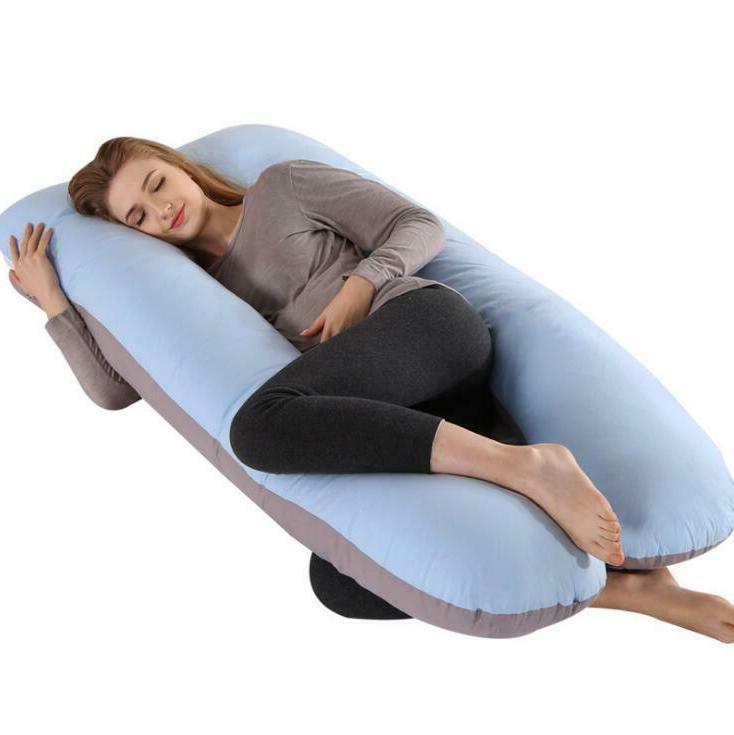 Full Body Pregnancy Pillow U-shaped Maternity Support Cushio