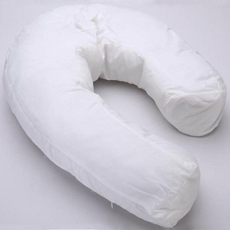 U-Shape Side Sleeper Neck Back <font><b>Pillows</b></font> Health Hold Neck