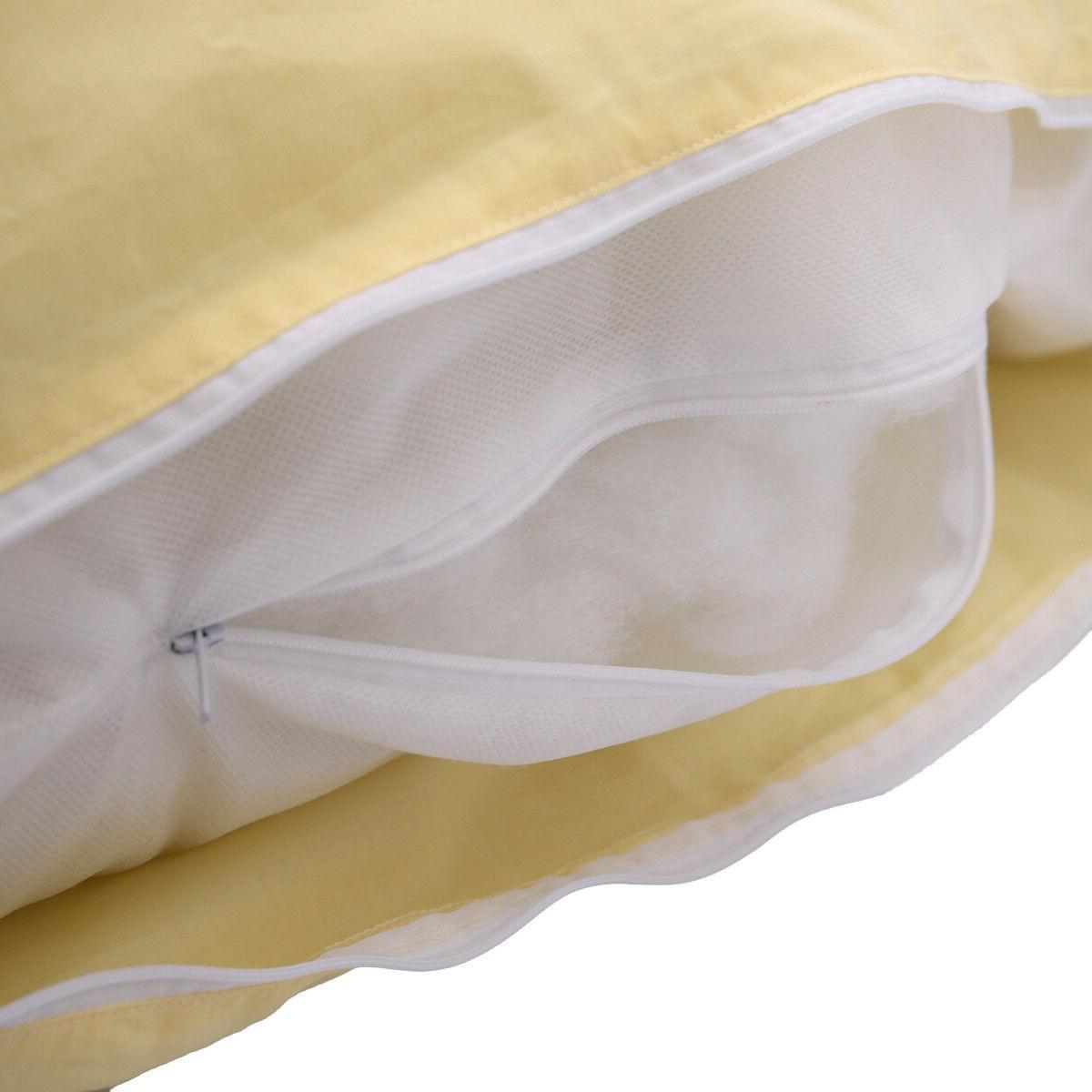 U Contoured Pregnancy w/ Zippered Cover