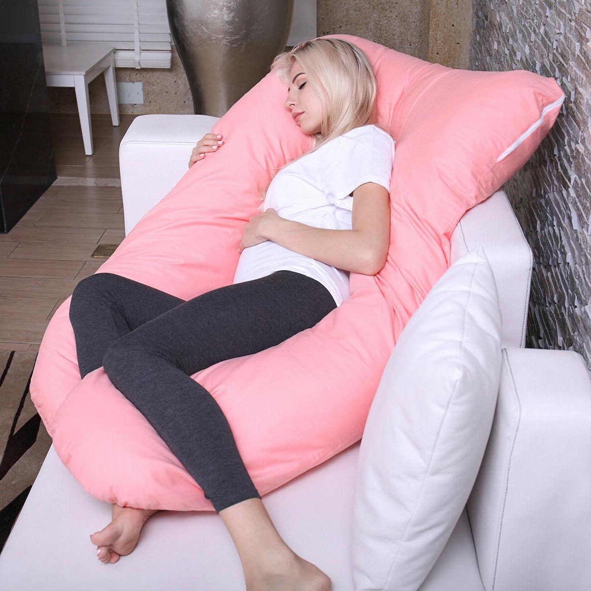 U Pregnancy Maternity Pillow w/