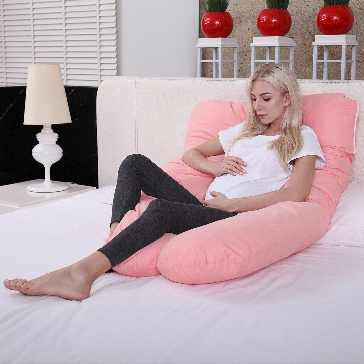 U Shaped Contoured Body Pregnancy / Maternity w/ Zippered