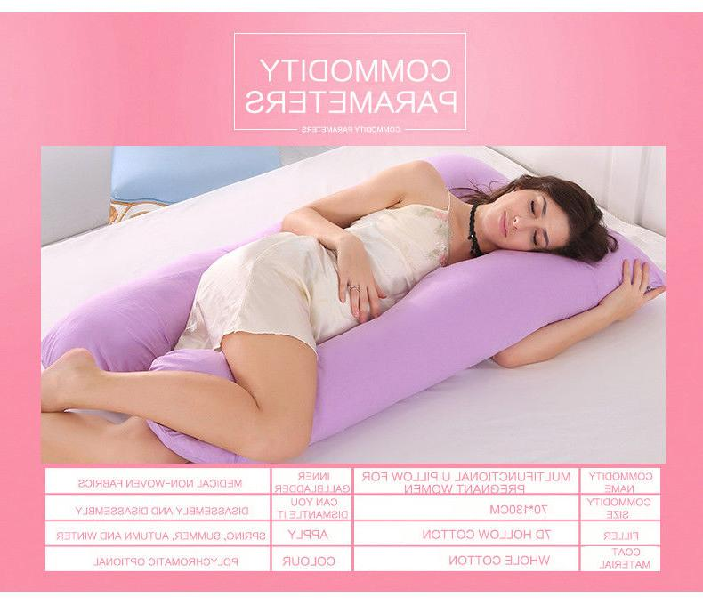 U-Shaped Pregnancy Pillow Maternity for