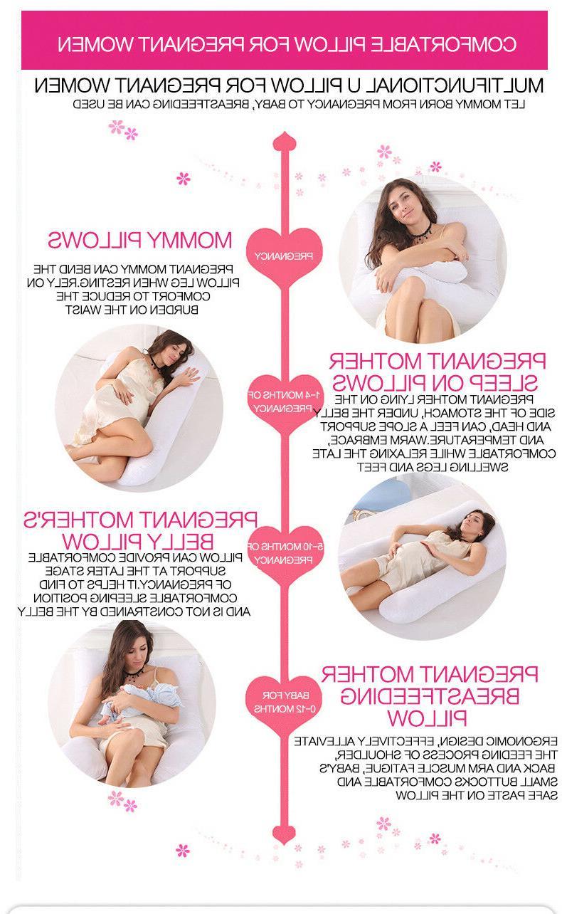 U-Shaped Pillow Maternity Side Cushion