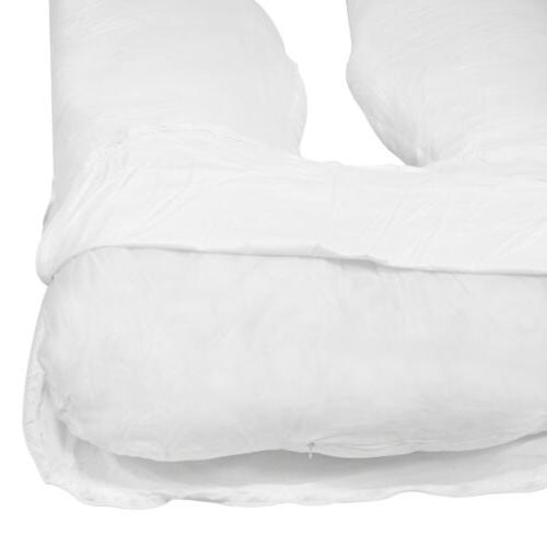 U Contoured Full Pregnancy Pillow Maternity Support