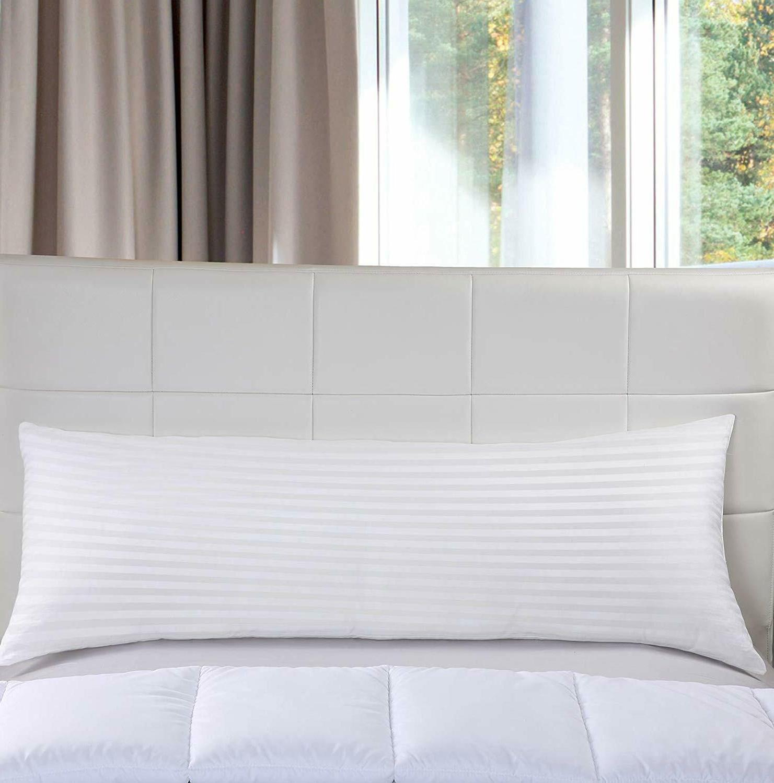 ultra soft body pillow long side sleeper