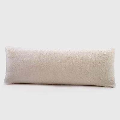Reafort Ultra Soft Sherpa Body Pillow Cover Case