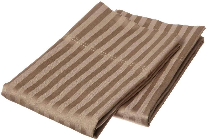~US 1 Pair Pillow Case 100% Egyptian Cotton 1000 Thread Coun
