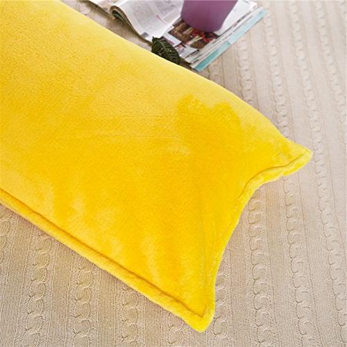 Zhiyuan Warm Fleece Pillow 17.5 Inch, Bright
