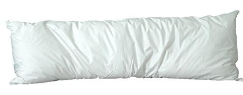 white goose feather pillow