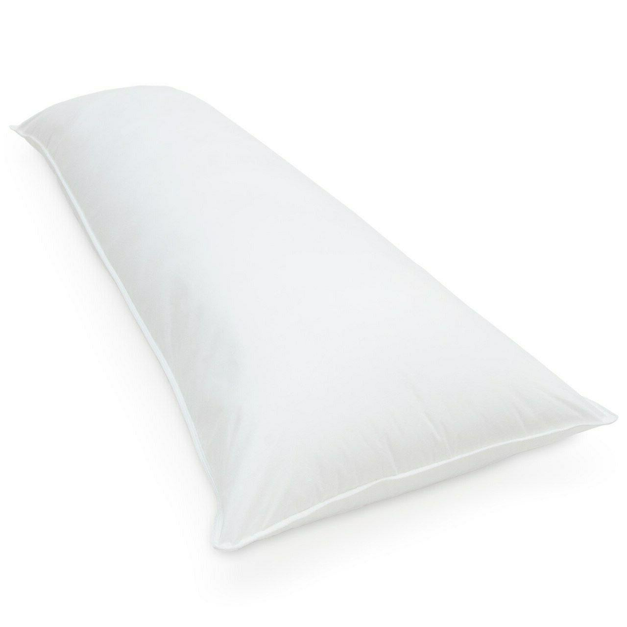 xl down alternative body pillow medium firmness