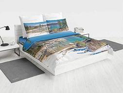 lake dog twin bedding set