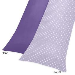 Sweet Jojo Designs Lavender Polka Dot and Purple Sloane Full