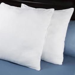 Lavish Home Down Alternative Euro Pillows  26 x 26 Inches Sq