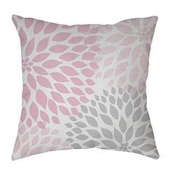 Sunhusing Leaves Printing Cotton Linen Square Hug Pillowcase