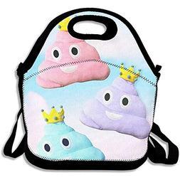 Monitorloe Lightweight Princess Poo Pillow Lunch Bag Lunch B