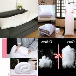 Long Pillow Inner White Body Cushion Pad Pillow Home Bedroom