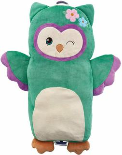 Soft Landing Luxe Loungers Owl Character Toddler Cushion Bod