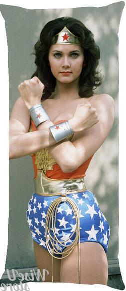 Wonder Woman Body Pillow.Lynda Carter As Wonder Woman Dakimakura Full Body