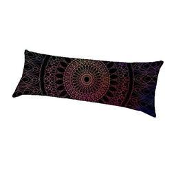 mandala pillow cover decorative pillowcase