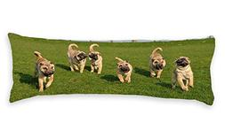 """Diuangfoong Many Dog Body Pillow Covers Cases 20""""x54"""""""