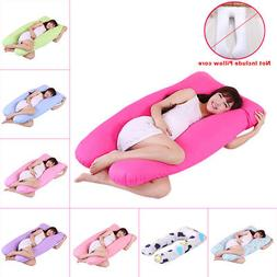 Maternity Pregnancy Sleepig Pillow Case U Shape Cushion Cove