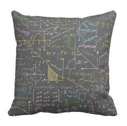 "AoLian CYW Math Lessons pillow case 20"" x 20"""