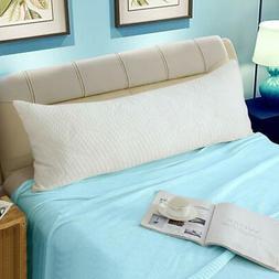 WhatsBedding Memory Fiber Full Body Pillows for Adults -Remo
