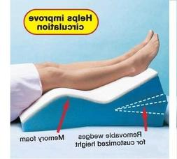 Memory Foam Adjustable Leg Wedge Positioner Pillow Elevator