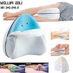 Memory Foam Knee Pillow Leg Pillow Orthopedic For Rest Trave