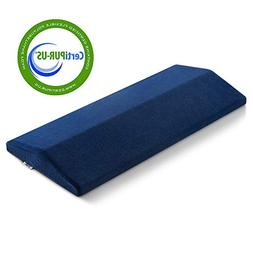 Jiaao Memory Foam Lumbar Support Pillow Soft Sleeping Pillow