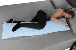 Lavish Home Memory Foam Body Pillow- for Side Sleepers, Back