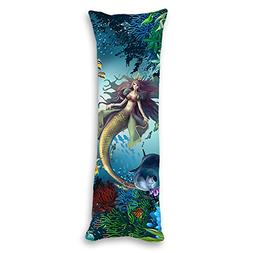 AILOVYO Mermaids Machine Washable Silky Shiny Satin Decorati
