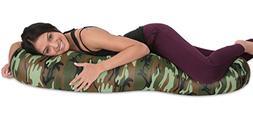 Deluxe Comfort Microbead Body Pillow  – Mooshi Squishy Sof