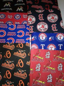 "MLB Cotton Body Pillow Protector/Cover with Zipper 21"" X 54"""