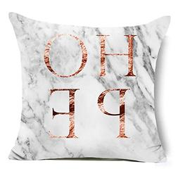 Aremazing Modern Rose Gold White Marble Pattern Super Soft T