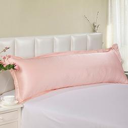 D&L Mulberry Silk Body Pillowcase,Bedroom Pillow Cover Coupl