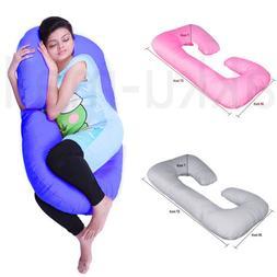 Multi-color Pregnancy Pillow - Full Body Pillow for Maternit