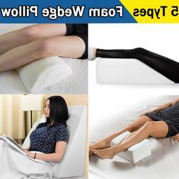 multifunction bed foam wedge pillow body knee