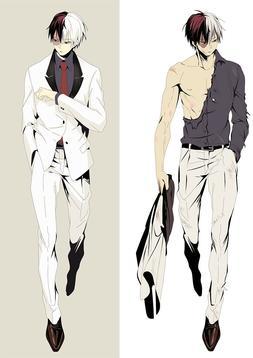 My Hero Academia Todoroki Shoto Dakimakura Anime Body Pillow