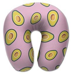 Laurel Neck Pillow Avocado Images Travel U-Shaped Pillow Sof
