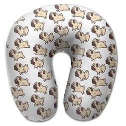 Laurel Neck Pillow Cute Dog Picture Travel U-Shaped Pillow S